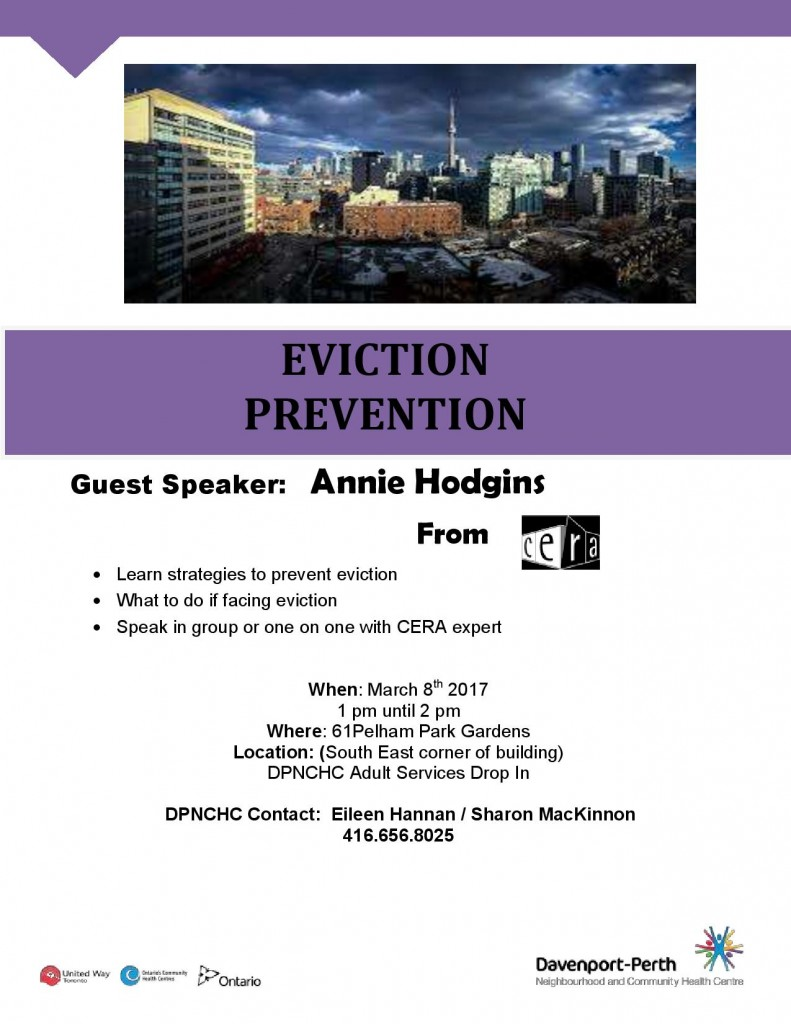 Eviction Prevention workshop