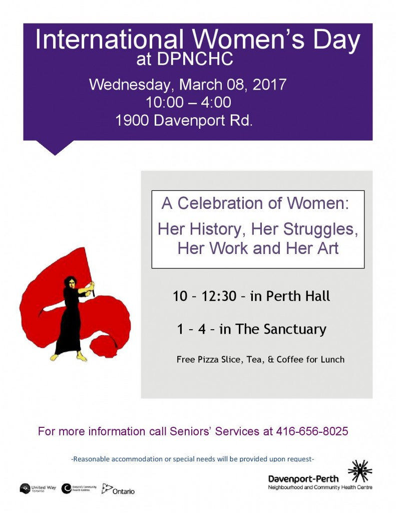International Women's Day at DPNCHC