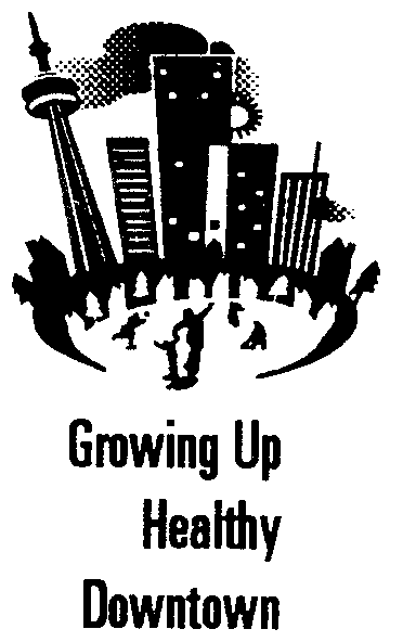 Growing up Healthy Downtown Logo