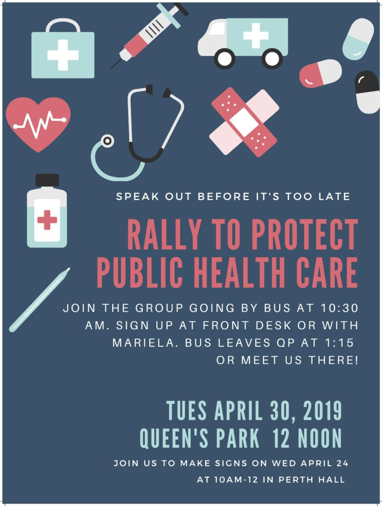 Rally to Protect Public Health