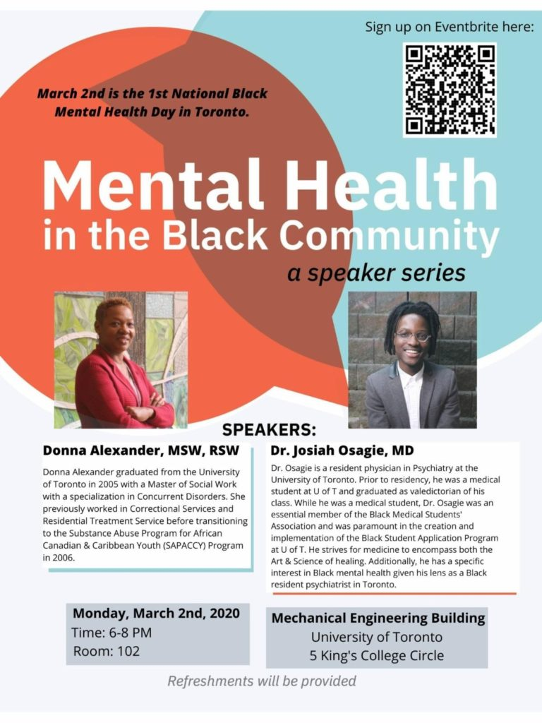 Mental Health in the Blk Community